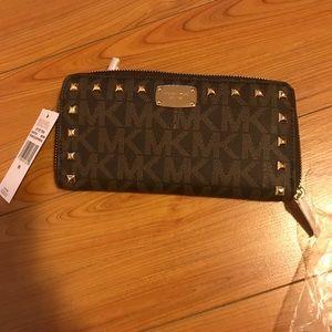 Michael Kors Leather Wallet Authentic